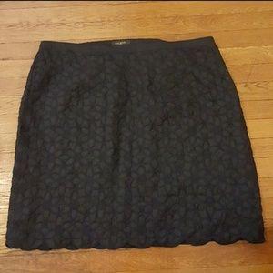 NWT Talbots Linen Scalloped skirt